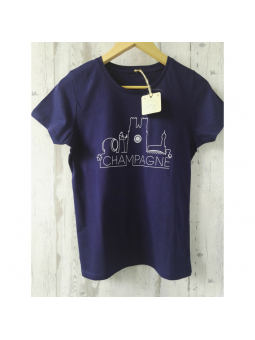"T-shirt Femme ""Champagne"""