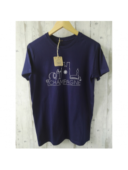"T-shirt Homme "" Champagne"""