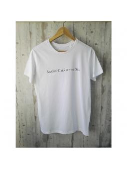 T-shirt blanc Sacré Champenois