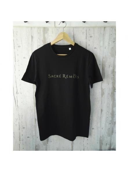 T-SHIRT noir Sacré Rémois
