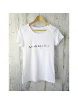 T-shirt blanc Sacrée Rémoise