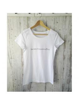 T-shirt blanc Sacrée Champenoise