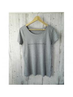 T-shirt gris Sacrée Champenoise