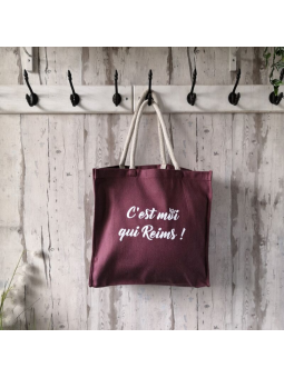 "Sac shopping ""C'est moi qui Reims!"""