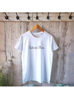 """T-shirt """" Sacré Papa"""""""