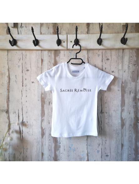 """T-shirt  enfant """"Sacrée Rémoise"""""""