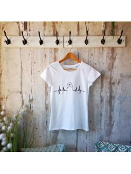 """T-shirt femme """"Cœur de champagne"""""""
