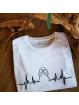 """T-shirt homme """" Cœur de champagne"""""""
