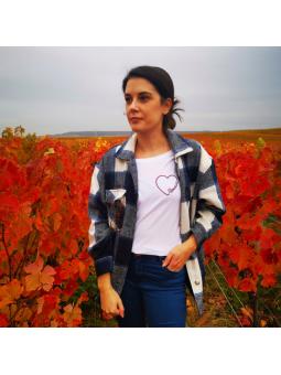 T-shirt femme Cœur Rémoise