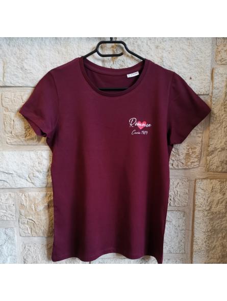 T-shirt Rémoise personnalisé Cuvée
