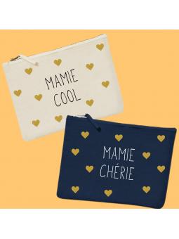"Pochette ""Mamie"" à personnaliser"