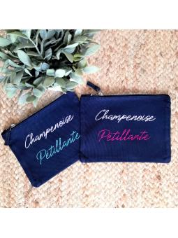 "Pochette "" Champenoise pétillante"""