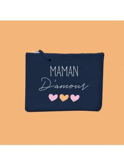 """Pochette """"Maman D'amour"""" +coeurs"""