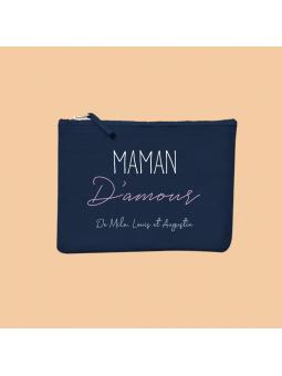 """Pochette """"Maman D'amour"""" + prénoms"""
