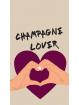 Fond d'écran Champagne lover