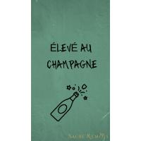 Fond d'écran élevé au champagne